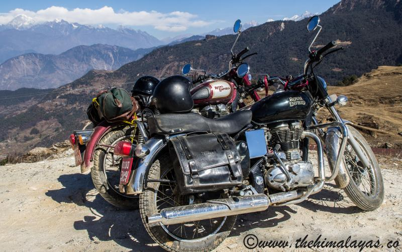 motorbike hire in Pokhara